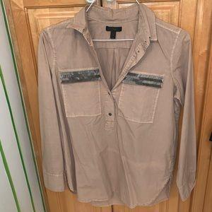 Great condition light purple/grey blouse